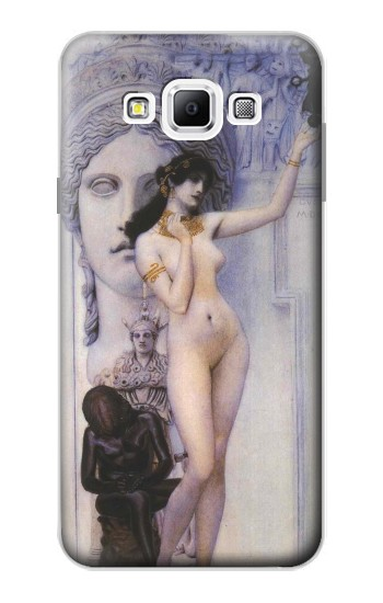 Printed Gustav Klimt Allegory of Sculpture Samsung Galaxy A7, A7 Duos Case