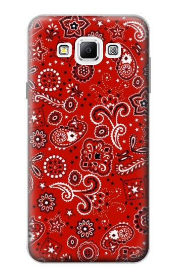 Printed Red Bandana Samsung Galaxy A7, A7 Duos Case