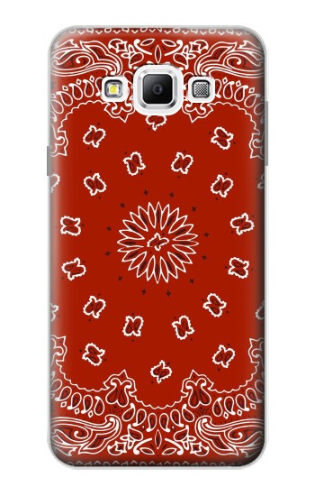 Printed Bandana Red Pattern Samsung Galaxy A7, A7 Duos Case
