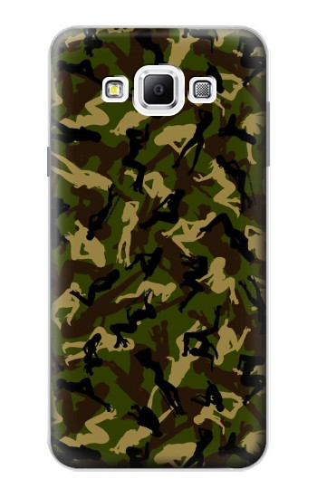 Printed Sexy Girls Camo Samsung Galaxy A7, A7 Duos Case