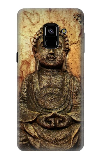 Printed Buddha Rock Carving Samsung Galaxy A8 (2018) Case