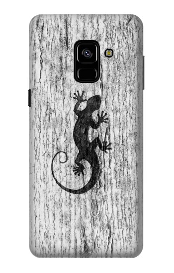 Printed Gecko Wood Graphics Printed Samsung Galaxy A8 (2018) Case