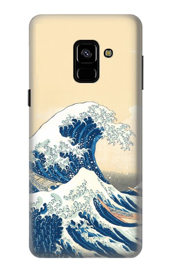 Printed Under the Wave off Kanagawa Samsung Galaxy A8 (2018) Case
