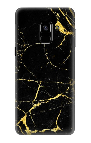 Printed Gold Marble Graphic Printed Samsung Galaxy A8 (2018) Case