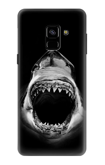 Printed Great White Shark Samsung Galaxy A8 (2018) Case