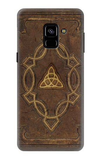 Printed Spell Book Cover Samsung Galaxy A8 (2018) Case