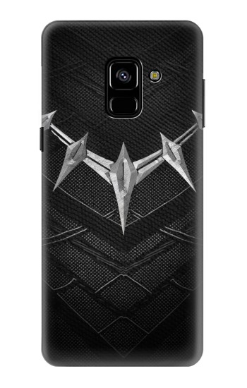Printed Black Panther Inspired Costume Necklace Samsung Galaxy A8 (2018) Case