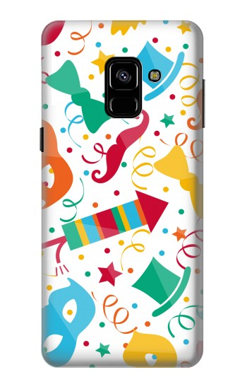 Printed Carnival Pattern Samsung Galaxy A8 (2018) Case