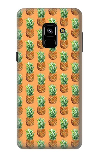 Printed Pineapple Pattern Samsung Galaxy A8 (2018) Case