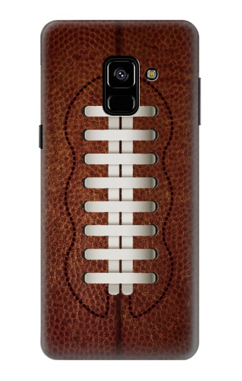 Printed Leather Vintage Football Samsung Galaxy A8 (2018) Case