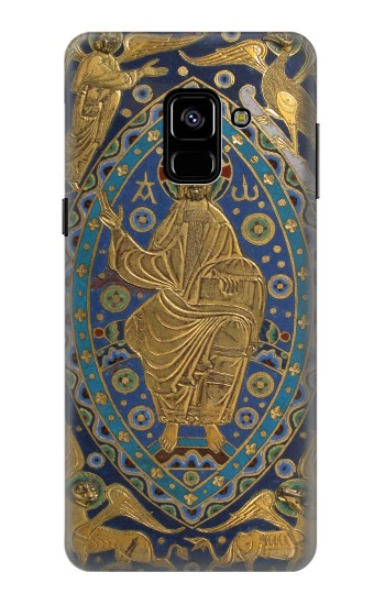 Printed Book Cover Christ Majesty Samsung Galaxy A8 (2018) Case