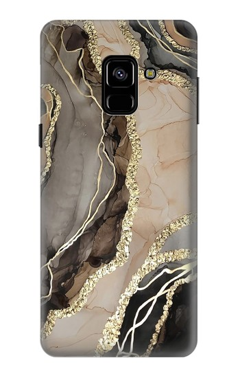 Printed Marble Gold Graphic Printed Samsung Galaxy A8 (2018) Case