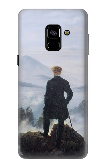 Printed Wanderer above the Sea of Fog Samsung Galaxy A8 (2018) Case