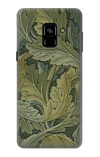 Printed William Morris Acanthus Leaves Samsung Galaxy A8 (2018) Case