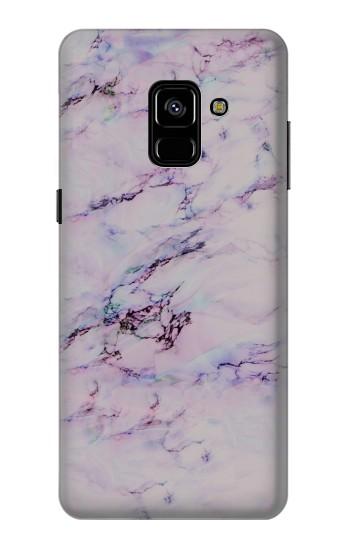 Printed Seamless Pink Marble Samsung Galaxy A8 Plus (2018) Case