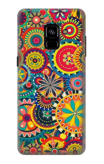 Printed Colorful Pattern Samsung Galaxy A8 Plus (2018) Case