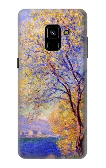 Printed Claude Monet Antibes Seen from the Salis Gardens Samsung Galaxy A8 Plus (2018) Case