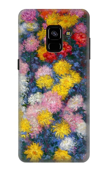 Printed Claude Monet Chrysanthemums Samsung Galaxy A8 Plus (2018) Case