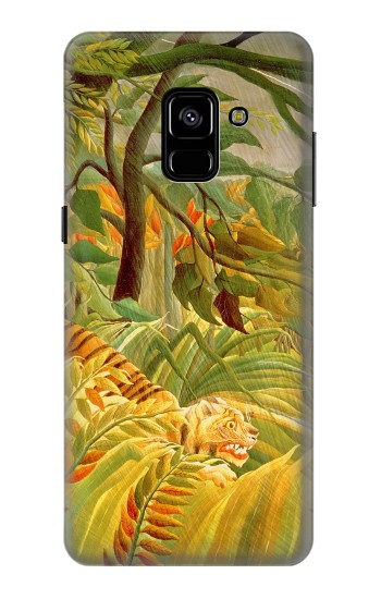 Printed Henri Rousseau Tiger in a Tropical Storm Samsung Galaxy A8 Plus (2018) Case