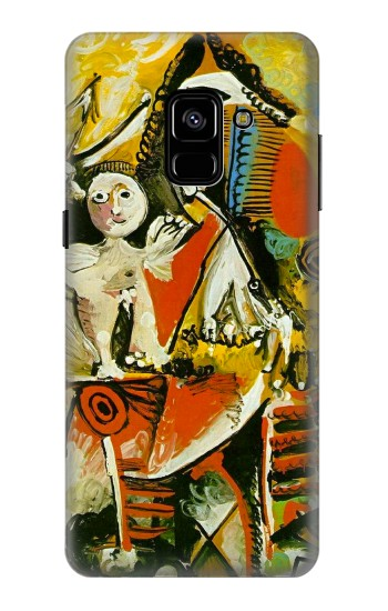 Printed Picasso Painting Cubism Samsung Galaxy A8 Plus (2018) Case