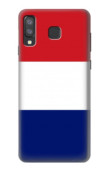 Printed Flag of France and the Netherlands Samsung Galaxy A8 Star (A9 Star) Case