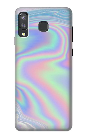 Printed Pastel Holographic Photo Printed Samsung Galaxy A8 Star (A9 Star) Case