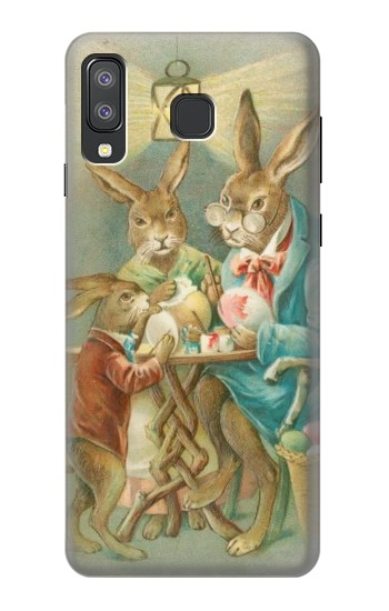 Printed Easter Rabbit Family Samsung Galaxy A8 Star (A9 Star) Case