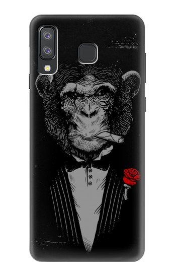 Printed Funny Monkey God Father Samsung Galaxy A8 Star (A9 Star) Case