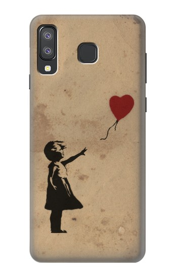 Printed Girl Heart Out of Reach Samsung Galaxy A8 Star (A9 Star) Case