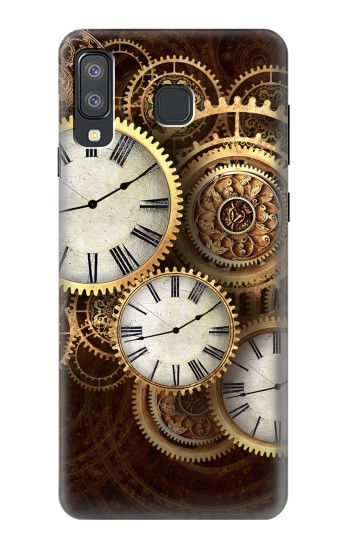 Printed Gold Clock Live Samsung Galaxy A8 Star (A9 Star) Case