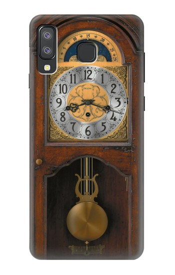 Printed Grandfather Clock Antique Wall Clock Samsung Galaxy A8 Star (A9 Star) Case