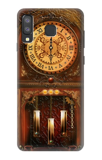 Printed Grandfather Clock Samsung Galaxy A8 Star (A9 Star) Case