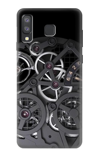 Printed Inside Watch Black Samsung Galaxy A8 Star (A9 Star) Case