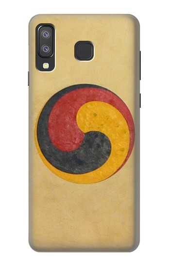 Printed Korean Traditional Drum Samsung Galaxy A8 Star (A9 Star) Case