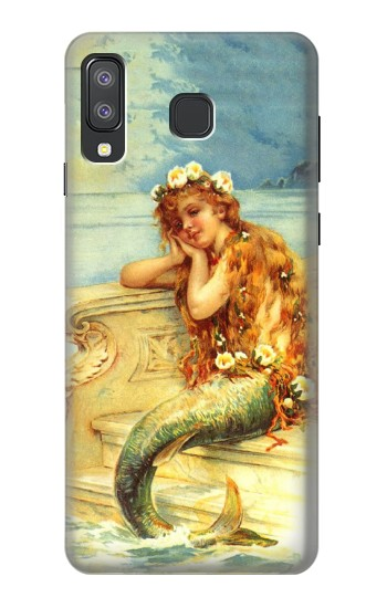 Printed Little Mermaid Painting Samsung Galaxy A8 Star (A9 Star) Case