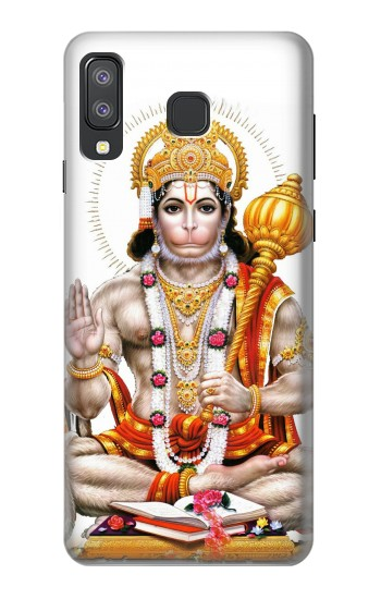 Printed Lord Hanuman Chalisa Hindi Hindu Samsung Galaxy A8 Star (A9 Star) Case