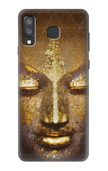 Printed Magical Yantra Buddha Face Samsung Galaxy A8 Star (A9 Star) Case