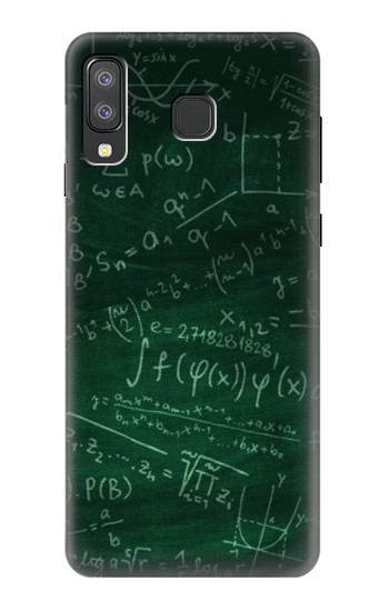 Printed Math Formula Greenboard Samsung Galaxy A8 Star (A9 Star) Case