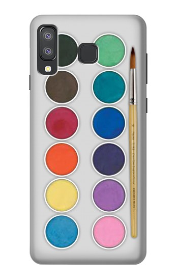 Printed Mixing Color Plate Samsung Galaxy A8 Star (A9 Star) Case