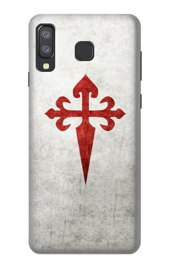 Printed Order of Santiago Cross of Saint James Samsung Galaxy A8 Star (A9 Star) Case