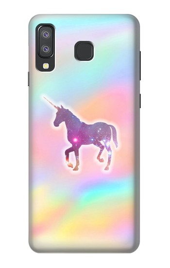 Printed Rainbow Unicorn Samsung Galaxy A8 Star (A9 Star) Case
