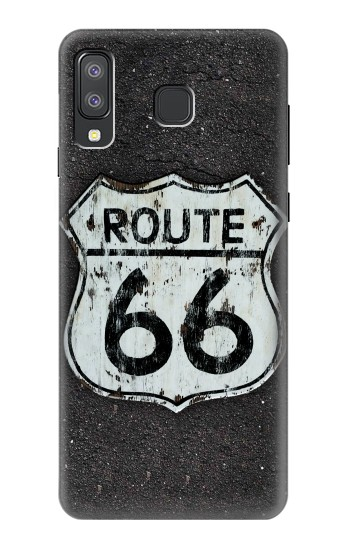 Printed Route 66 Sign Samsung Galaxy A8 Star (A9 Star) Case