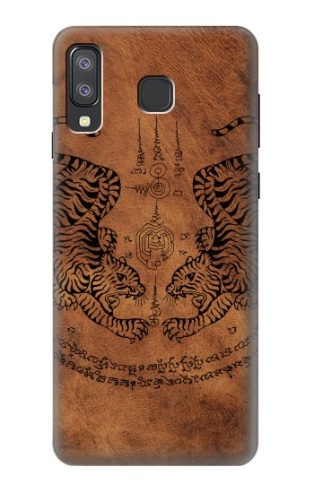 Printed Sak Yant Twin Tiger Samsung Galaxy A8 Star (A9 Star) Case