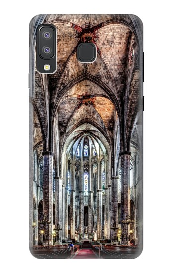 Printed Santa Maria Del Mar Cathedral Samsung Galaxy A8 Star (A9 Star) Case