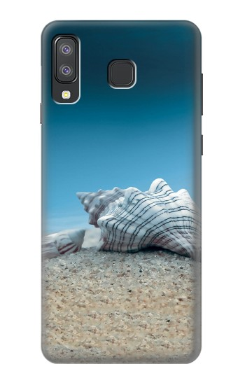 Printed Sea Shells Under the Sea Samsung Galaxy A8 Star (A9 Star) Case