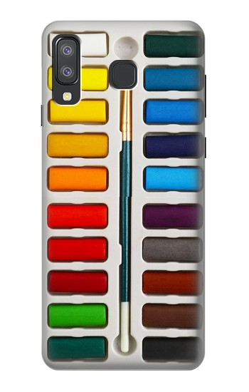 Printed Watercolor Paint Set Samsung Galaxy A8 Star (A9 Star) Case