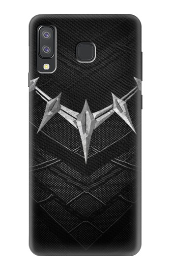 Printed Black Panther Inspired Costume Necklace Samsung Galaxy A8 Star (A9 Star) Case