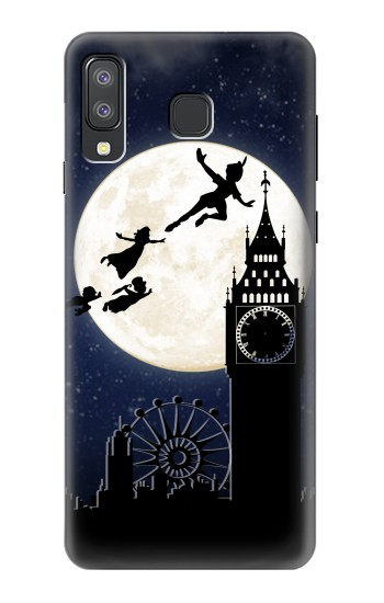 Printed Peter Pan Fly Fullmoon Night Samsung Galaxy A8 Star (A9 Star) Case