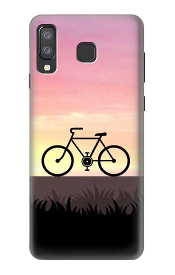 Printed Bicycle Sunset Samsung Galaxy A8 Star (A9 Star) Case