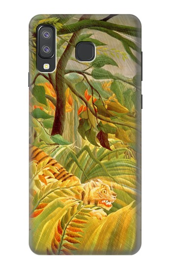 Printed Henri Rousseau Tiger in a Tropical Storm Samsung Galaxy A8 Star (A9 Star) Case